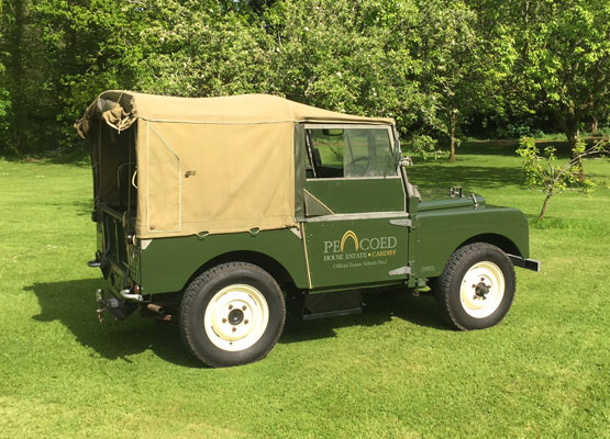 Classic 1951 Land Rover
